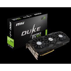 Фото Видеокарта MSI GeForce GTX 1070 DUKE 8192MB (GTX 1070 DUKE 8G OC)
