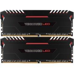 Фото ОЗУ Corsair DDR4 32GB (2x16GB) 2666Mhz Vengeance LED (CMU32GX4M2A2666C16R)