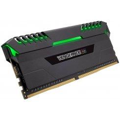 Фото ОЗУ Corsair DDR4 32GB (2x16GB) 3000Mhz Vengeance RGB (CMR32GX4M2C3000C15) Black