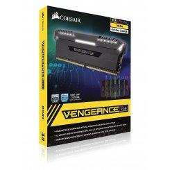 Фото ОЗУ Corsair DDR4 64GB (4x16GB) 2666Mhz Vengeance RGB (CMR64GX4M4A2666C16)