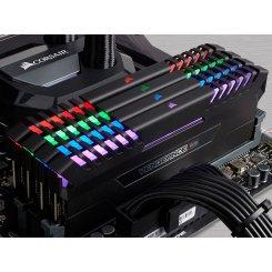 Фото ОЗУ Corsair DDR4 64GB (8x8GB) 3000Mhz Vengeance RGB (CMR64GX4M8C3000C15)