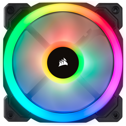 Фото Кулер для корпуса Corsair LL120 RGB LED Dual Light Loop 3 Fan Pack (CO-9050072-WW)