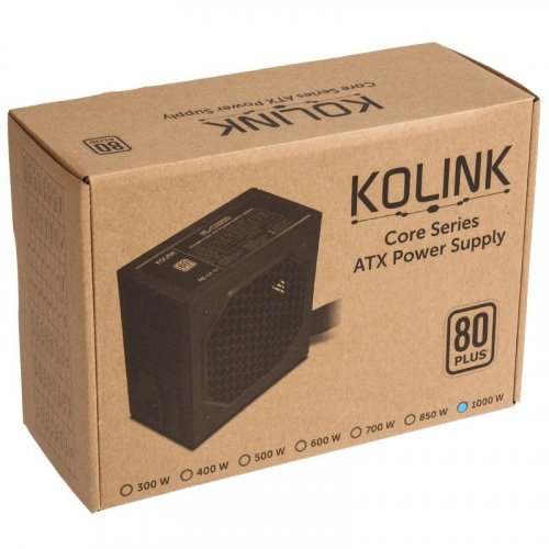 Фото Блок питания Kolink 1000W (KL-C1000)