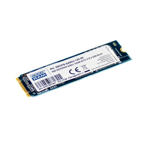 Фото SSD-диск GoodRAM S400u 120GB M.2 (2280 SATA) (SSDPR-S400U-120-80)