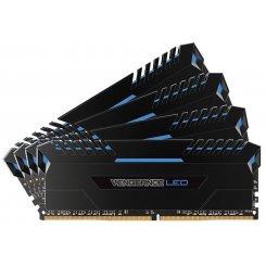 Фото ОЗУ Corsair DDR4 16GB (2x8GB) 3000Mhz Vengeance LED Blue (CMU16GX4M2C3000C15B) Black