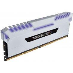 Фото ОЗУ Corsair DDR4 16GB (2x8GB) 3000Mhz Vengeance LED White (CMR16GX4M2C3000C15W)