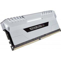 Фото ОЗУ Corsair DDR4 16GB (2x8GB) 3200Mhz Vengeance LED White (CMR16GX4M2C3200C16W)