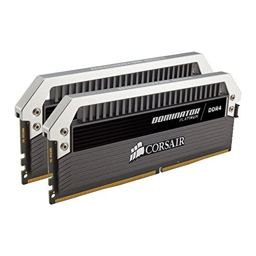 Фото ОЗУ Corsair DDR4 32GB (2x16GB) 3200Mhz Dominator Platinum (CMD32GX4M2C3200C16) Black