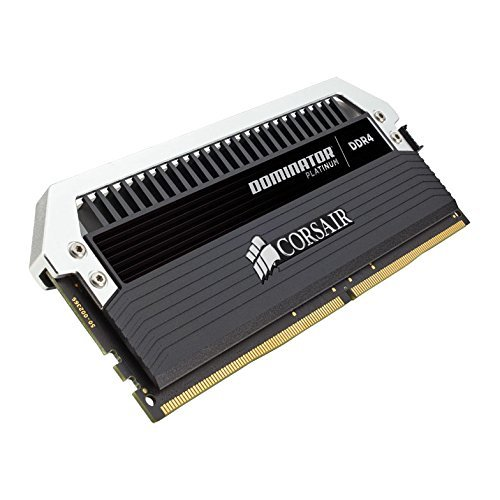 Фото ОЗУ Corsair DDR4 32GB (2x16GB) 3200Mhz Dominator Platinum (CMD32GX4M2C3200C16) Black