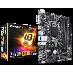 Фото Материнская плата Gigabyte Z370M DS3H (s1151-V2, Intel Z370)