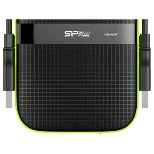 Фото Внешний HDD Silicon Power Armor A60 5TB (SP050TBPHDA60S3K) Black