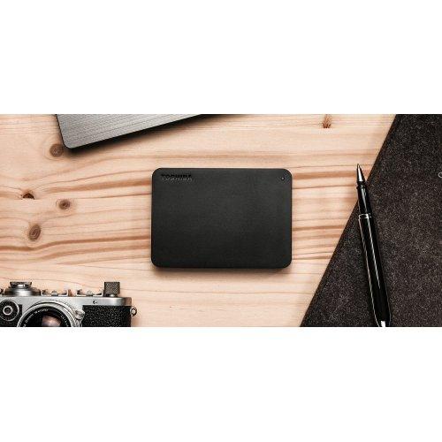 Фото Жесткий диск Toshiba Canvio Basics 1TB (HDTB410EK3AA) Black