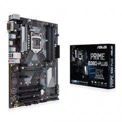 Фото Материнская плата Asus PRIME B360-PLUS (s1151-V2, Intel B360)