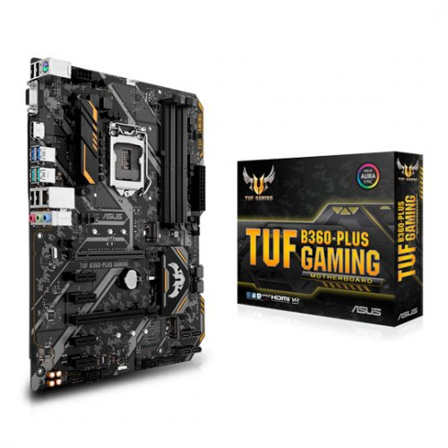 Фото Asus TUF B360-PLUS GAMING (s1151-V2, Intel B360)
