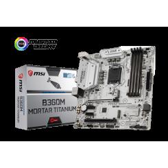 Фото Материнская плата MSI B360M MORTAR TITANIUM (s1151-v2, Intel B360)
