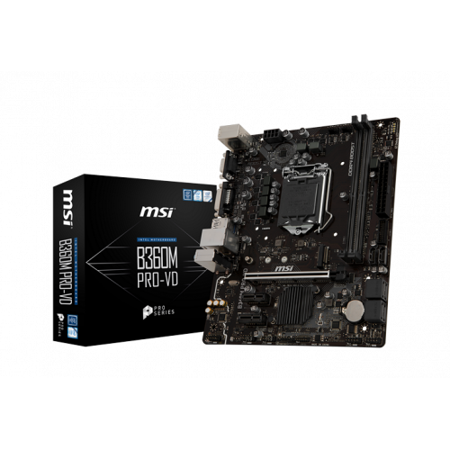 Фото Материнская плата MSI B360M PRO-VD (s1151-v2, Intel B360)