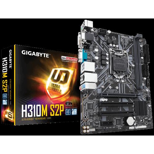 Фото Gigabyte H310M S2P (s1151-V2, Intel H310)