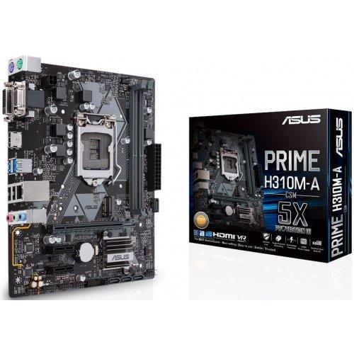Фото Материнская плата Asus PRIME H310M-A (s1151-v2, Intel H310)