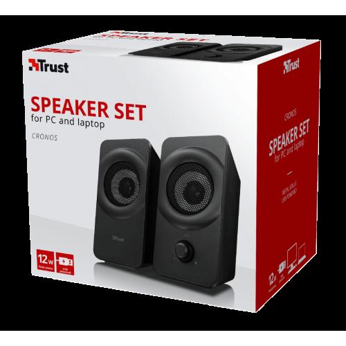 Фото Акустическая система Trust 2.0 Cronos Speaker Set (22365) Black