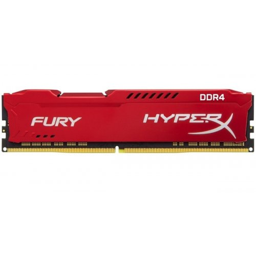 Фото ОЗУ Kingston DDR4 16GB 3200Mhz HyperX Fury Red (HX432C18FR/16)