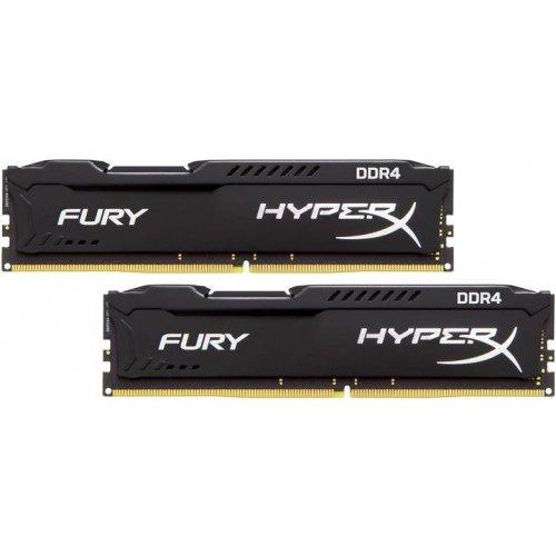 Фото ОЗУ Kingston DDR4 32GB (2x16GB) 3200Mhz HyperX Fury Black (HX432C18FBK2/32)