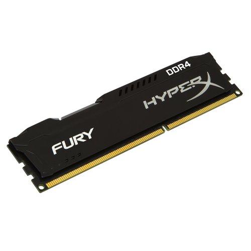 Фото Kingston DDR4 16GB (2x8GB) 3200Mhz HyperX Fury Black (HX432C18FB2K2/16)