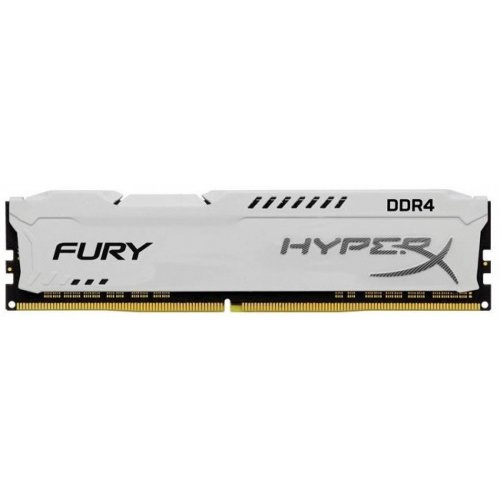 Фото ОЗУ Kingston DDR4 8GB 3200Mhz HyperX Fury White (HX432C18FW2/8)