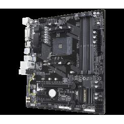 Фото Материнская плата Gigabyte GA-AB350M-DS3H (sAM4, AMD B350)