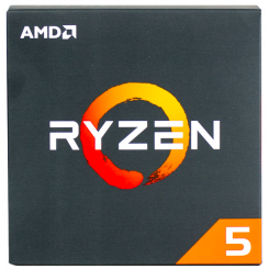 AMD Ryzen 5 2600 3.4(3.9)GHz 16MB sAM4 Box (YD2600BBAFBOX)