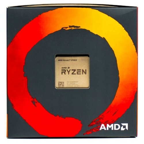 Фото Процессор AMD Ryzen 7 2700X 3.7(4.3)GHz 16MB sAM4 Box (YD270XBGAFBOX)