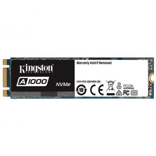 Фото SSD-диск Kingston A1000 TLC 240GB M.2 (2280 PCI-E) (SA1000M8/240G)
