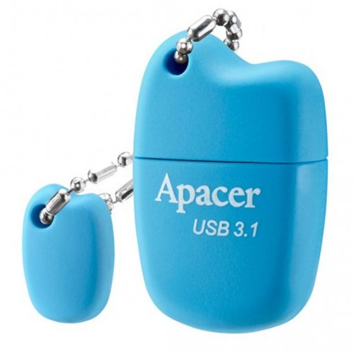 Фото Накопитель Apacer AH159 64GB USB 3.1 Blue (AP64GAH159U-1)