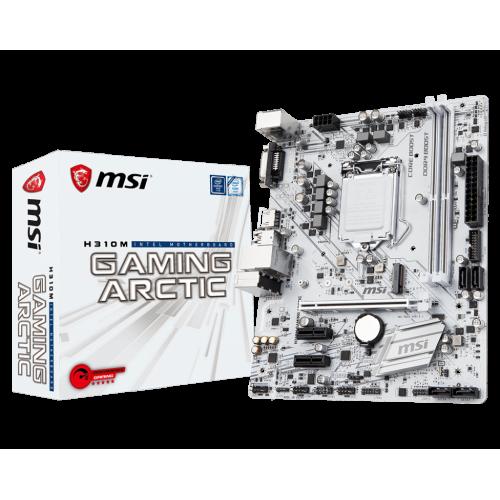 Фото MSI H310M GAMING ARCTIC (s1151-V2, Intel H310)