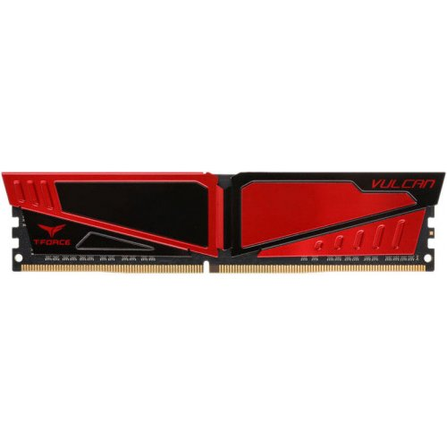 Фото ОЗУ Team DDR4 8GB 2400Mhz T-Force Vulcan Red (TLRED48G2400HC1601)