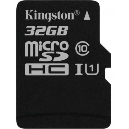 Фото Карта памяти Kingston microSDHC 32GB Class 10 UHS-I (без адаптера) (SDCS/32GBSP)