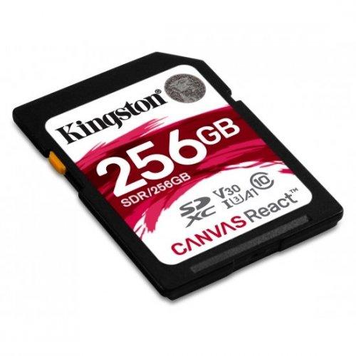 Фото Карта памяти Kingston SDXC 256GB Class 10 UHS-I (без адаптера) (SDR/256GB)