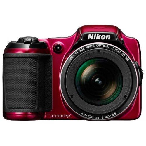 Фото Цифровые фотоаппараты Nikon Coolpix L820 Red