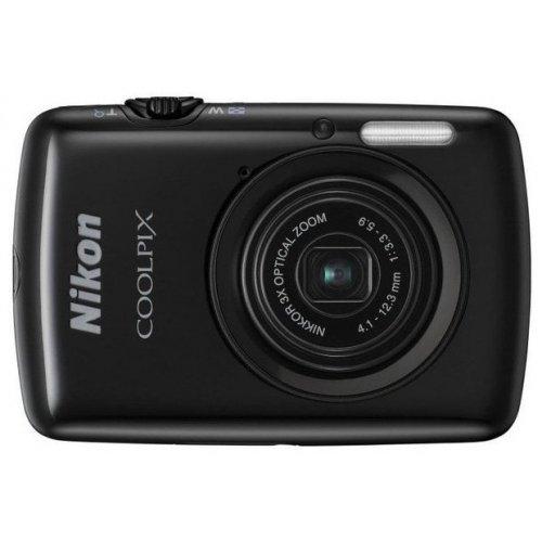 Фото Цифровые фотоаппараты Nikon Coolpix S01 Black