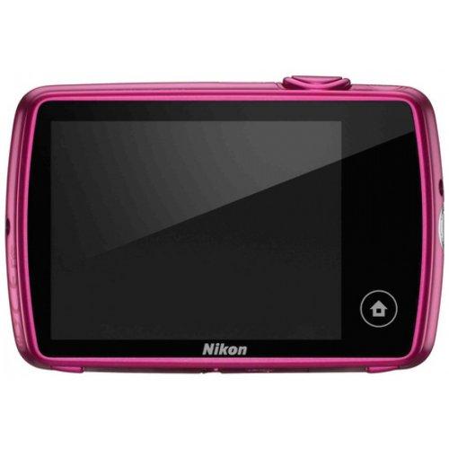 Фото Цифровые фотоаппараты Nikon Coolpix S01 Pink