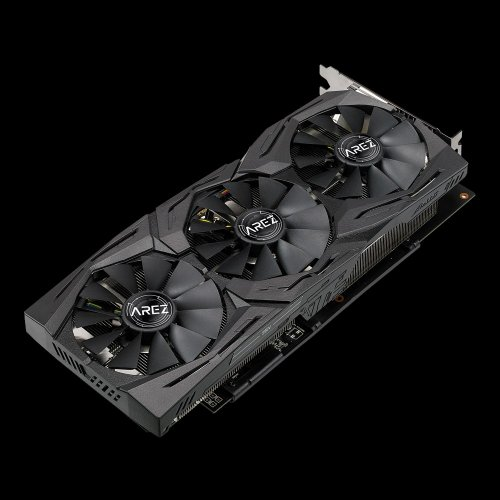 Фото Видеокарта Asus AREZ Radeon RX 580 STRIX TOP 8192MB (AREZ-STRIX-RX580-T8G-GAMING)
