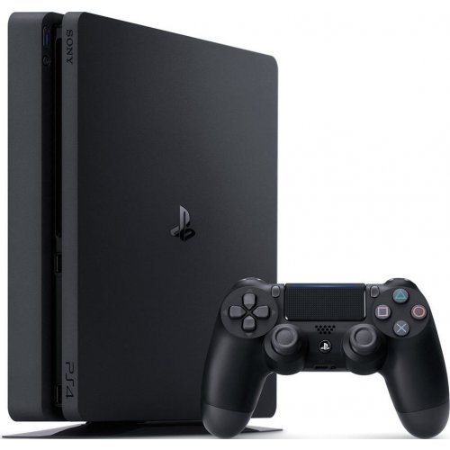 Фото Sony PlayStation 4 Slim 500 Gb HZD+GTS+UC4+PSPlus 3М (9395270) Black