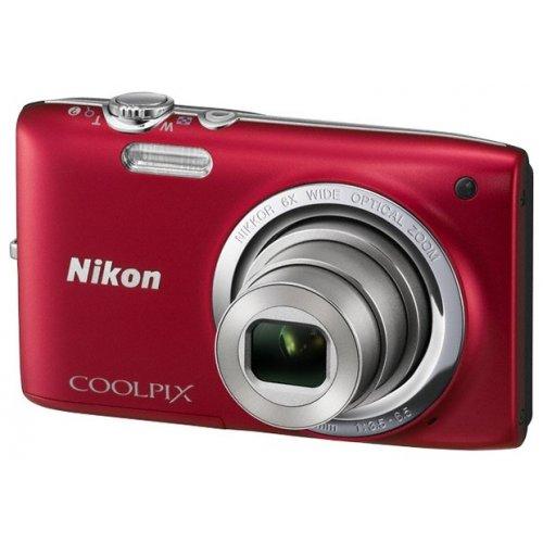 Фото Цифровые фотоаппараты Nikon Coolpix S2700 Red