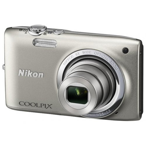 Фото Цифровые фотоаппараты Nikon Coolpix S2700 Silver