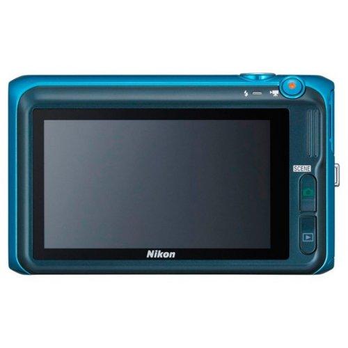 Фото Цифровые фотоаппараты Nikon Coolpix S6400 Blue
