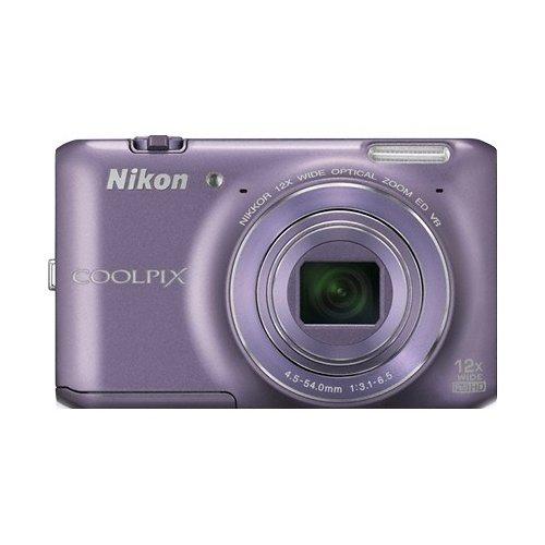 Фото Цифровые фотоаппараты Nikon Coolpix S6400 Purple