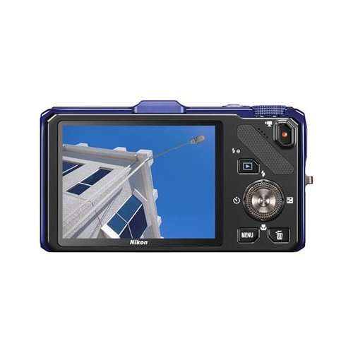 Фото Цифровые фотоаппараты Nikon Coolpix S9300 Blue