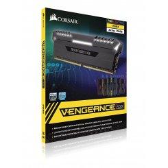 Фото ОЗУ Corsair DDR4 16GB (2x8GB) 4000Mhz Vengeance RGB Black (CMR16GX4M2F4000C19)
