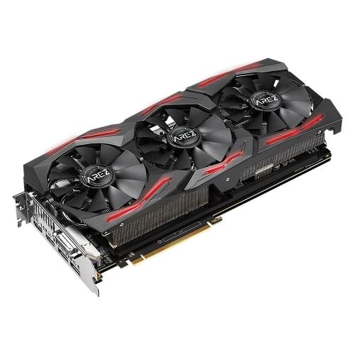 Фото Видеокарта Asus AREZ STRIX Radeon RX VEGA 56 OC 8192MB (AREZ-STRIX-RXVEGA56-O8G-GAMING)