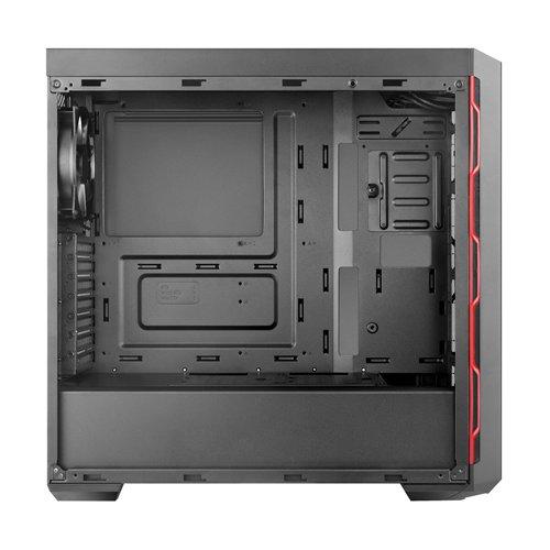 Фото Cooler Master MasterBox MB600L Window без БП (MCB-B600L-KA5N-S00) Black/Red