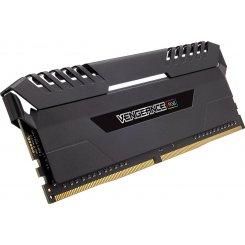 Фото ОЗУ Corsair DDR4 16GB (2x8GB) 3200Mhz Vengeance RGB Black (CMR16GX4M2C3200C16)